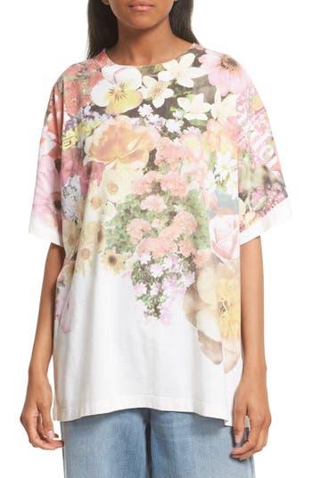 MM6 Maison Margiela Floral Print Tee