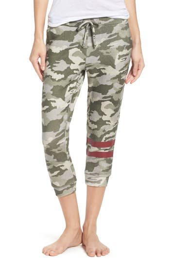 Chaser Camo Crop Lounge Pants