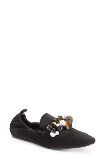 Lanvin Pearl Slipper Loafer (Women)