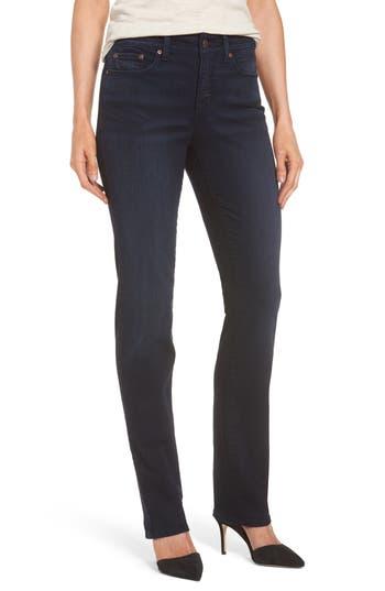 NYDJ Marilyn Stretch Straight Leg Jeans (Sinclair) (Regular & Petite)