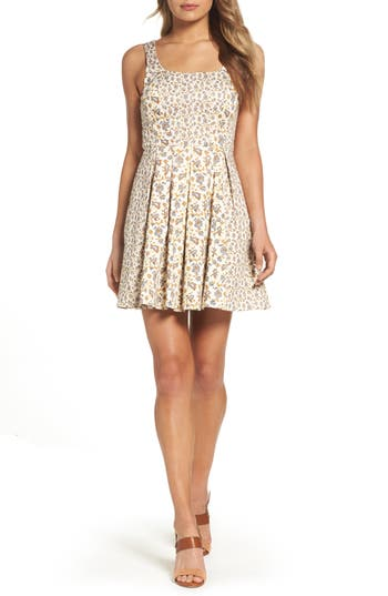 French Connection Niko Fit & Flare Dress