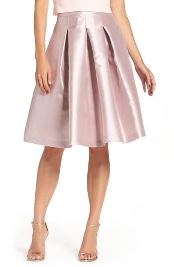 Eliza J Release Pleat Full Skirt