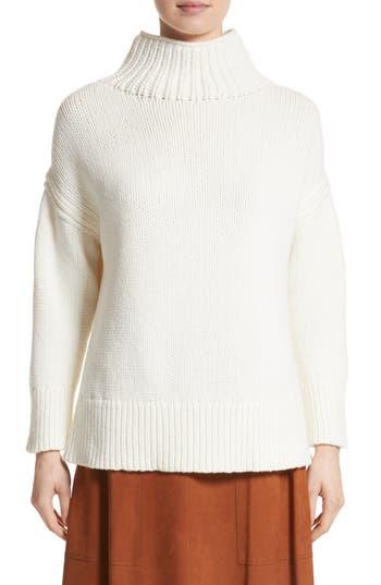 Lafayette 148 New York Oversize Turtleneck Sweater