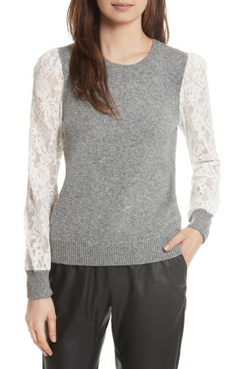 Rebecca Taylor Lace Sleeve..