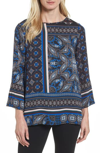 Chaus Bell Sleeve Border P..