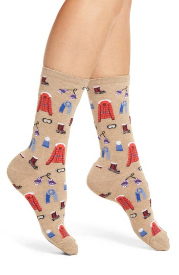 Hot Sox Ski Clothes Crew Socks..