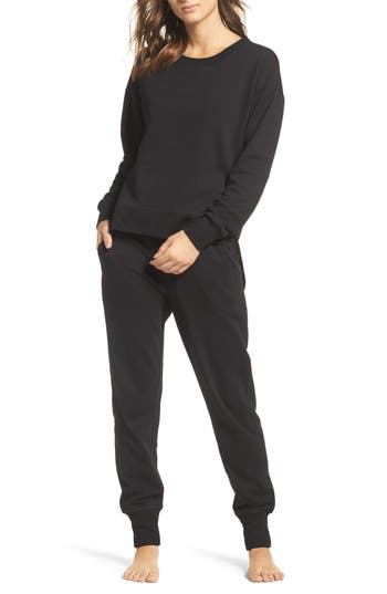 Josie Sweatshirt & Sweatpants Outfit with Accessories