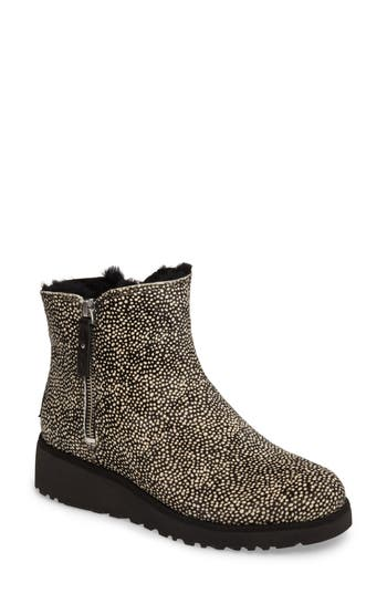 UGG? Shala Genuine Calf Hair Wedge Boot (Women)