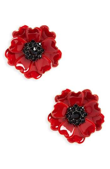 Kate Spade New York Precious Poppies Large Stud Earrings