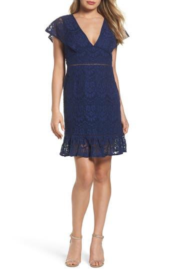 Foxiedox Morganne V-Neck Lace Dress