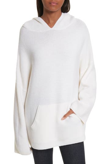 Allude Virgin Wool & Cashmere Hooded Sweater