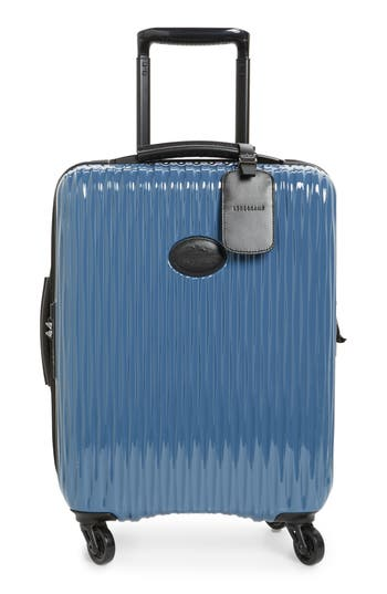 Longchamp Ruban 22-Inch Four-Wheel Hard Shell Suitcase