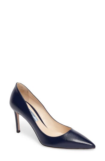 Prada Pointy Toe Pump (Wom..
