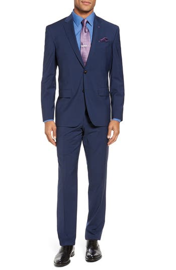 Jay Trim Fit Stretch Wool Suit by Ted Baker London