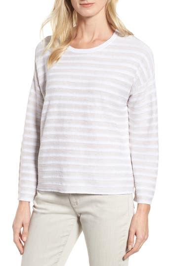 Eileen Fisher Textured Organic Linen Sweater