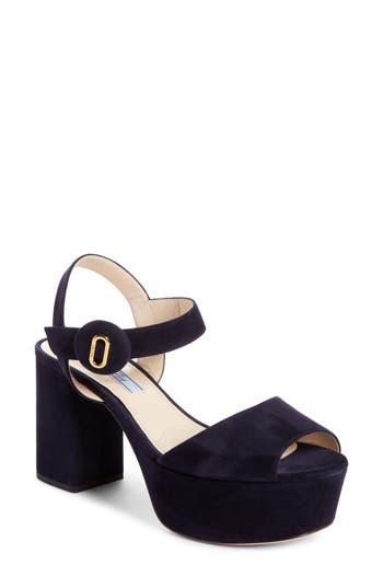 Prada Block Heel Platform ..