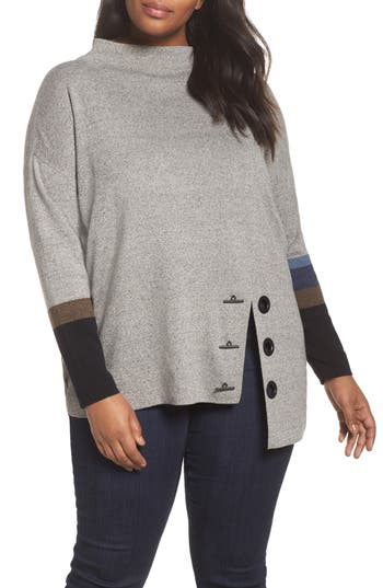 NIC+ZOE Toggled Up Top (Plus Size)