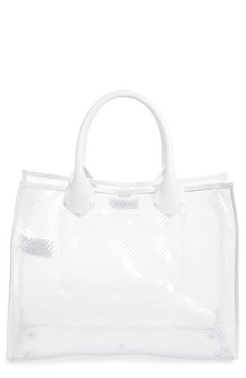 Maison Margiela Textured Transparent Tote