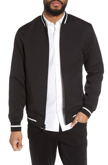 Slim Fit Bomber Jacket by Vince Camuto