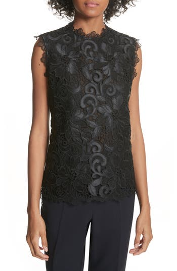 Best Ted Baker London Scalloped Lace Top