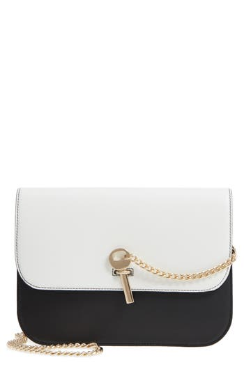 Topshop Amelia Premium Leather Crossbody Bag by Topman