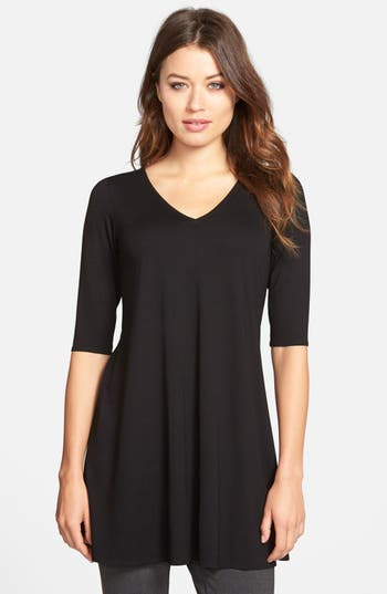 Eileen Fisher V-Neck Tunic..