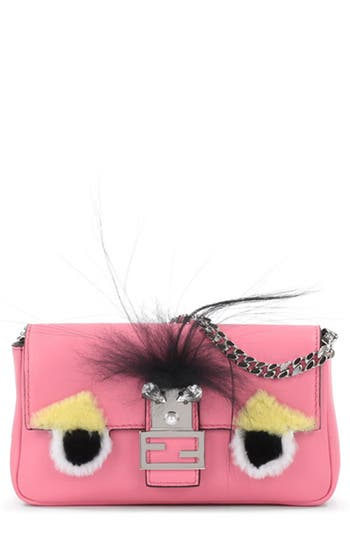 Fendi 'Monster' Genuine Rabbit..