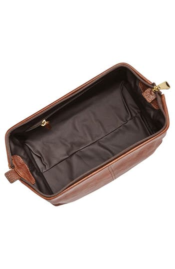 Alternate Image 2  - Fossil Leather Framed Travel Kit