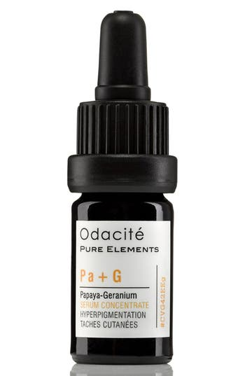 Alternate Image 1 Selected - Odacité Pa + G Papaya-Geranium Hyperpigmentation Facial Serum Concentrate