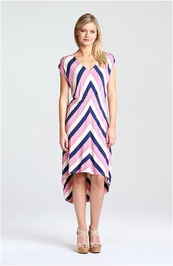 Stripe High/Low Midi Dress, video thumbnail