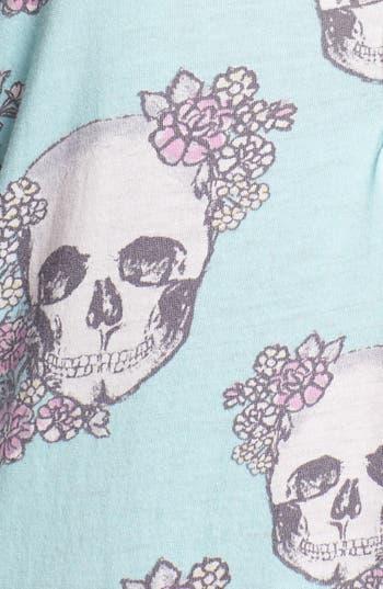 Alternate Image 3  - PJ Salvage 'Floral Skully' Sleep Shirt