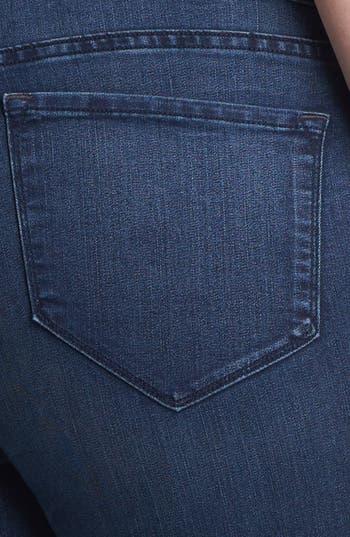 Alternate Image 3  - NYDJ 'Audrey' Stretch Ankle Skinny Jeans (New York) (Plus Size)