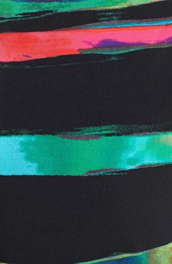 Alternate Image 3  - Tahari Stripe Matte Jersey Sheath Dress