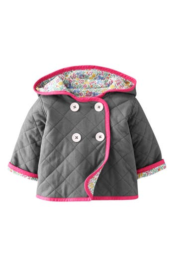 Mini Boden Quilted Jersey Jacket Baby Girls Nordstrom
