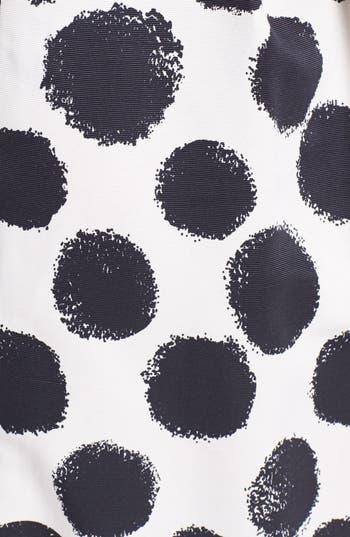 Alternate Image 3  - Eliza J Dot Print Tulip Sheath Dress