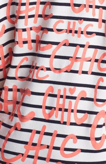 Alternate Image 3  - Ten Sixty Sherman 'Chic' Stripe Sweatshirt (Juniors)