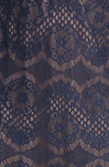 Alternate Image 3  - Tadashi Shoji Lace Sheath Dress (Regular & Petite)