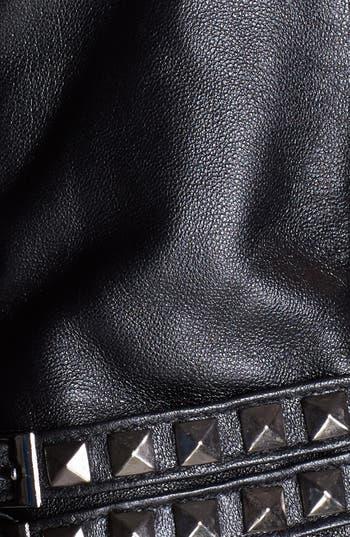 Alternate Image 2  - Surell Studded Leather Gloves