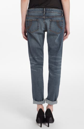 Alternate Image 2  - maje 'Daulnay' Destructed Boyfriend Jeans