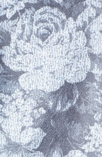 Alternate Image 3  - h.i.p. Floral Print Sweatshirt (Juniors)