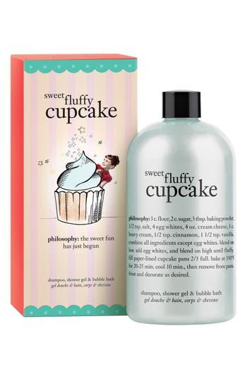 Alternate Image 1 Selected - philosophy 'sweet fluffy cupcake' shampoo, shower gel & bubble bath