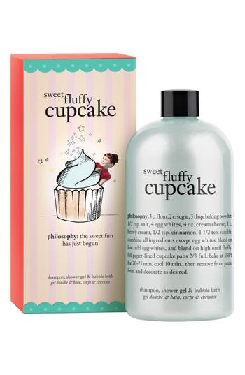 Main Image - philosophy 'sweet fluffy cupcake' shampoo, shower gel & bubble bath