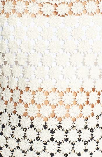 Alternate Image 3  - Painted Threads Daisy Crochet Tank (Juniors)