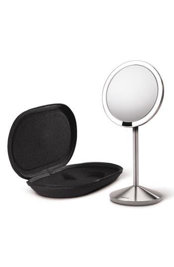 Alternate Image 2  - simplehuman Mini Countertop Sensor Makeup Mirror (5 Inch)