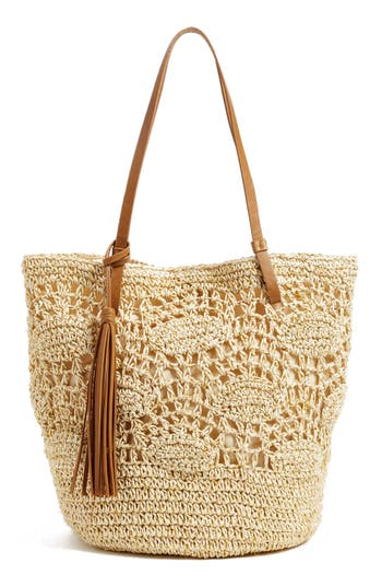 Nordstrom Crochet Straw To..