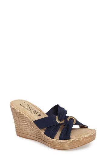 TUSCANY by Easy Street? Solaro Platform Wedge Sandal (Women)