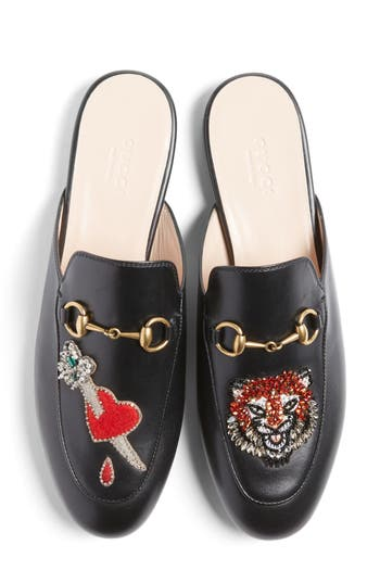 Gucci Princetown Mule Loafer (Women)