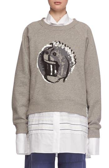 Burberry Graphic Print Sweatshirt