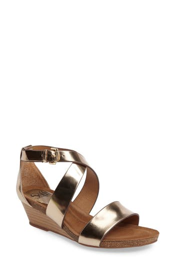 S?fft Vita Strappy Wedge Sandal (Women)