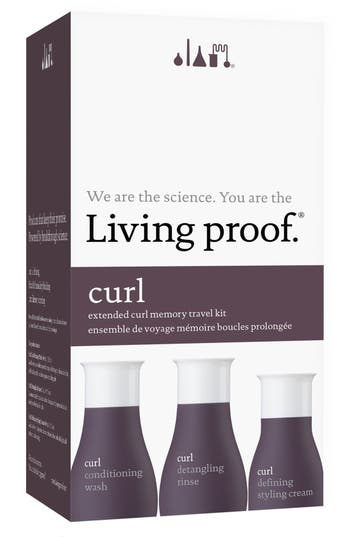 Alternate Image 1 Selected - Living proof® Curl Travel Kit